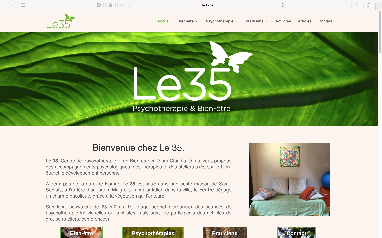 site internet portfolio claude laloy